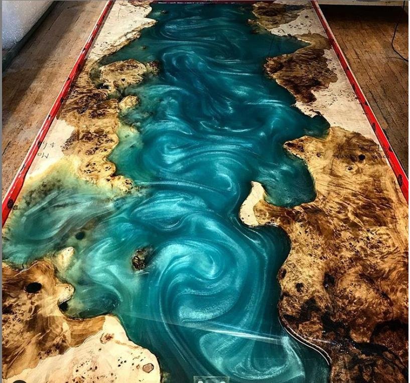 Epoxy resin Tables - Rich Brackett 1