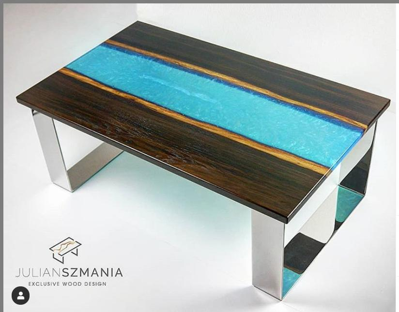 Epoxy tables Julian Szmania 1