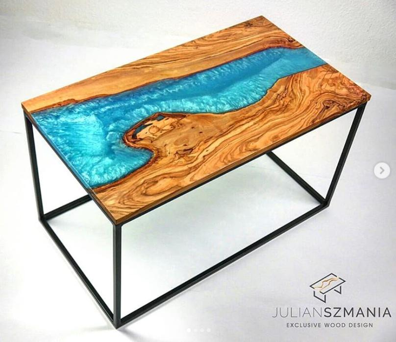 Epoxy tables Julian Szmania 2